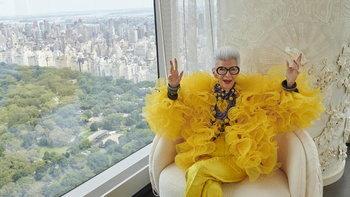 Iris Apfel x H&M ถ่ายทอดสไตล์อันโดดเด่น ฉลองวันเกิดครบ 100 ปีของคุณยายไอริส