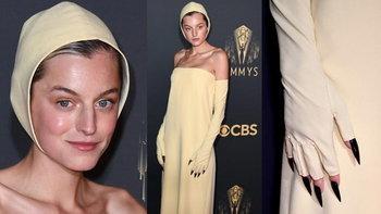ถอดรหัสหมวกว่ายน้ำ! ของ Emma Corrin ที่ใส่มาร่วมงาน EMMYS ครั้งที่ 73