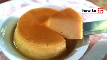 วิธีทำคัสตาร์ดพุดดิ้ง ใช้นมและขนมปังแผ่น หวานหอมเนื้อนุ่ม ทำง่ายสุดๆ