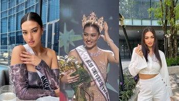รู้จัก แอน แอนชิลี ผู้คว้าตำแหน่ง Miss Universe Thailand 2021 พร้อมไปจักรวาล