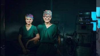 ภาพพรีเวดดิ้งเก๋ไม่ซ้ำใคร คู่รักพยาบาลกับภาพหวานในห้องผ่าตัด