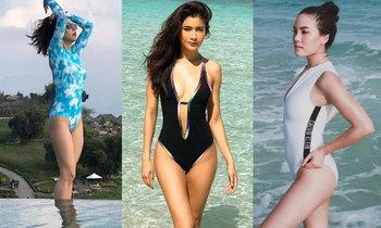รวมคนดังกับชุดว่ายน้ำวันพีซสุดฮิต ที่ใส่แล้วสวยปัง ไม่พังเป็นแหนม