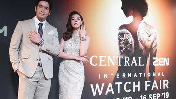 ใบเฟิร์น พิมพ์ชนก อวดนาฬิกามูลค่ากว่า 4 ล้านบาท ในงาน Central | ZEN International Watch Fair 2019