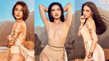 Miss Earth Thailand 2021 รอบชุดว่ายน้ำ ทำทะเลทรายลุกเป็นไฟ