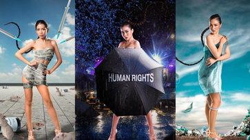 """สวยขนลุก! Miss Earth Thailand 2021 กับ """"ภาพสะท้อนสังคม"""""""