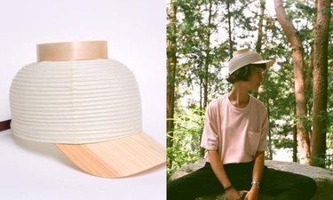 """หน้าร้อนนี้ต้องมี! """"Chochin Cap"""" หมวกโคมไฟไอเดียเก๋"""