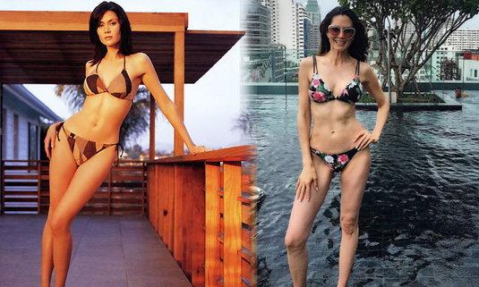 44 ปียังแซ่บ! จีน่า จิดาภา อดีตรองนางสาวไทย อวดซิกแพคแน่นๆ หุ่นเป๊ะๆ