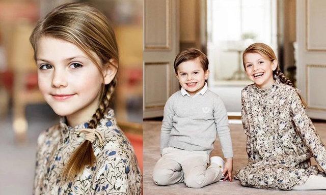 สำนักพระราชวังสวีเดน เผยพระรูปใหม่วันคล้ายวันประสูติ 8 ปีของเจ้าหญิงเอสเตลล์