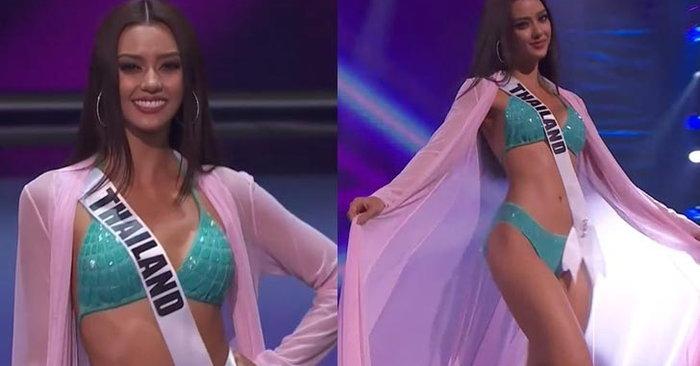 Miss Universe 2020 รอบพรีลิม สาวงามประชันโฉมชุดว่ายน้ำ แซ่บไฟลุก