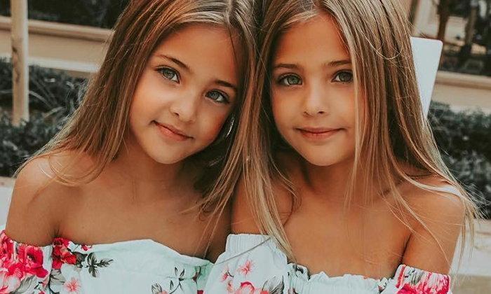 นี่แค่ 7 ขวบ! ส่องชีวิตนางแบบคู่แฝดรุ่นจิ๋วที่สวยที่สุดในโลก