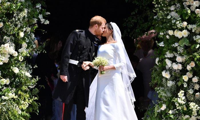 เผยทุกดีเทล! ภาพงานพิธีเสกสมรสของเจ้าชายแฮร์รี่และเมแกน มาร์เคิล