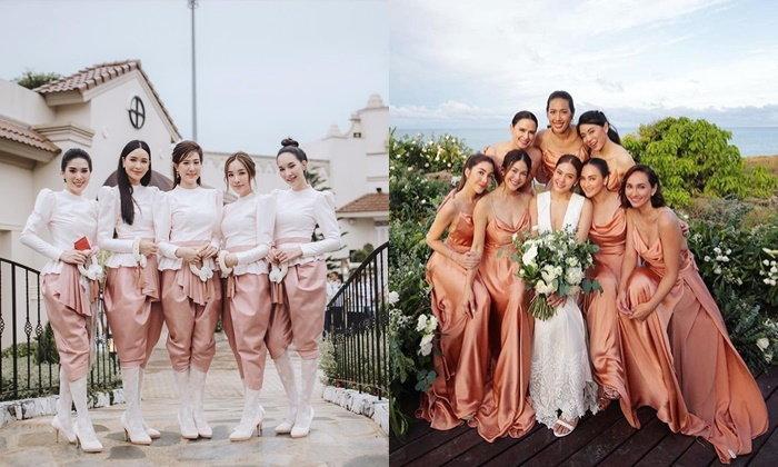 15 ไอเดียชุดเพื่อนเจ้าสาวสุดปังแห่งปี 2018 งานแต่งดาราปีนี้ ไม่มีใครยอมใครจริงๆ