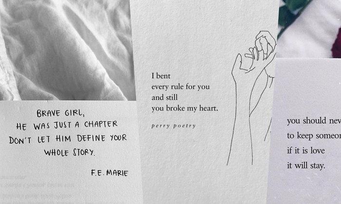 รวม 30 quoteความรัก หม่นๆเฮิร์ทๆ อ่านแล้วหน่วงใจ