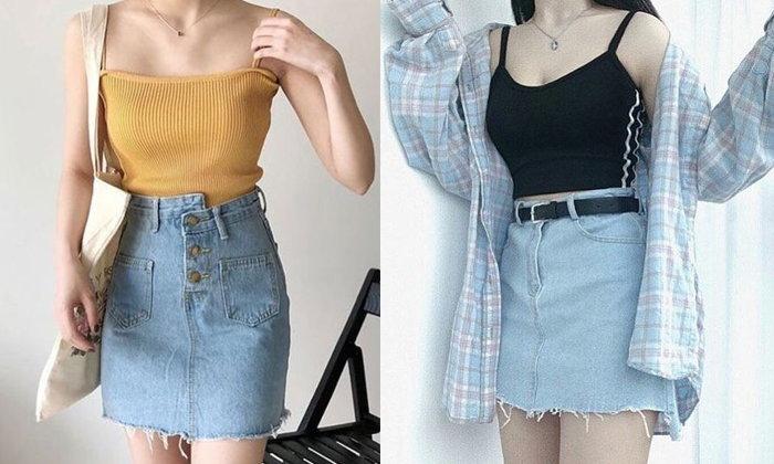 จัดแฟชั่นไอเทม Short Skirt แต่งลุคเซ็กซี่ แนวหวาน ให้ดูคิวท์
