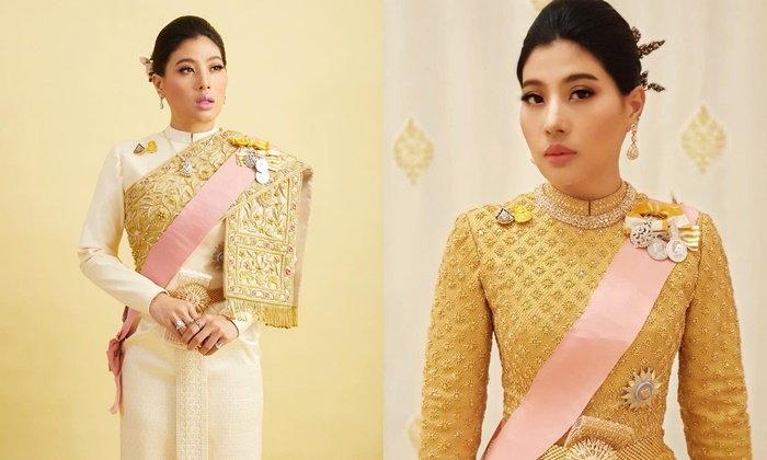 ทรงพระสิริโฉมยิ่งนัก พระองค์หญิงสิริวัณณวรีฯ เสด็จพระราชพิธี ในฉลองพระองค์ชุดไทยบรมพิมาน