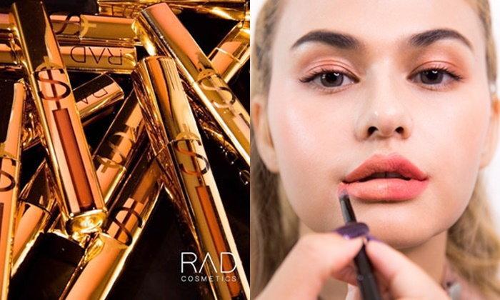 #ลิปขยี้แล้วสีเปลี่ยน เปิดตัวลิปนวัตกรรมใหม่ จาก RAD Cosmetics
