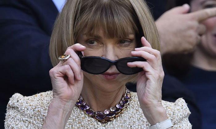 เผยความลับ 30 ปี! ทำไมแอนนา วินทัวร์จึงต้องสวมแว่นตาดำ