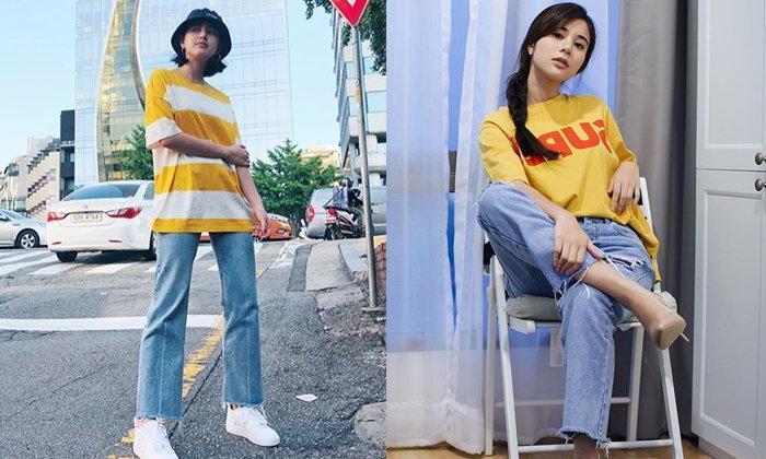 Simple Look แฟชั่นเสื้อยืด กางเกงยีนส์ เหล่าเซเลบไทย ใส่ไปเที่ยวยังไงให้ดูไม่อยู่บ้าน!