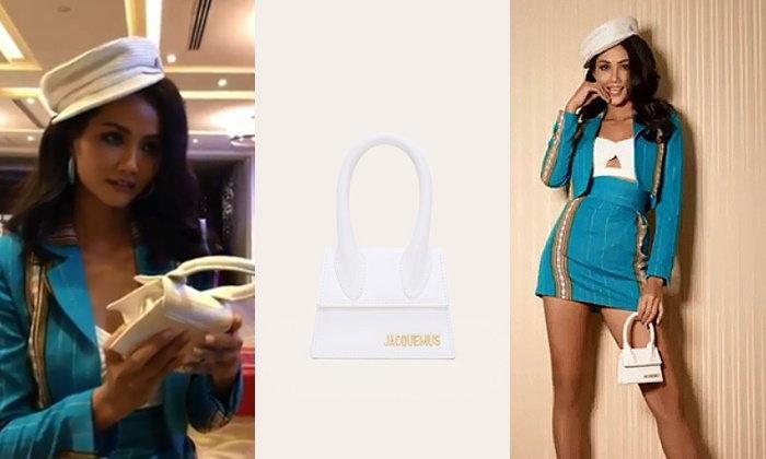 เปิดกระเป๋า เห่อแฮน เนีย TOP 5 Miss Universe 2018 เล็กขนาดนี้ พกอะไรไว้