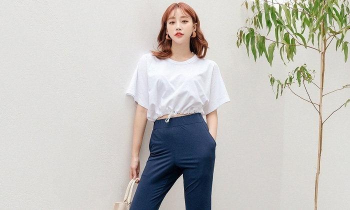 กางเกงเอวสูงใส่กับเสื้อแบบไหนถึงจะปัง มาดู
