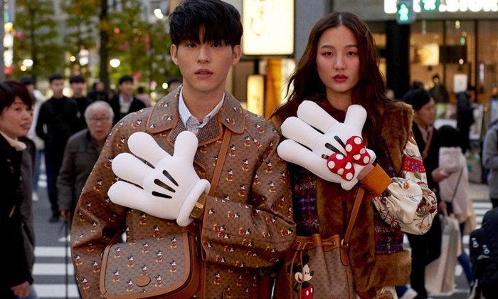 สกาย-ต้าเหนิง กับลุคแสนน่ารักจาก Gucci Chinese New Year Collection