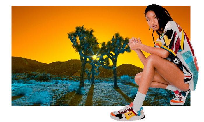 Onitsuka Tiger แต่งตั้ง Willow Smith เป็นแบรนด์แอมบาสเดอร์ พร้อมปล่อยภาพแคมเปญปี 2020
