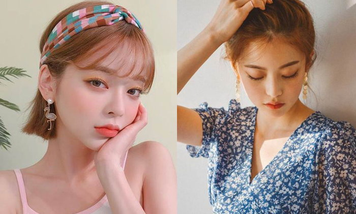 30 แฟชั่นต่างหูห้อยสวยๆ สไตล์เกาหลี 2020