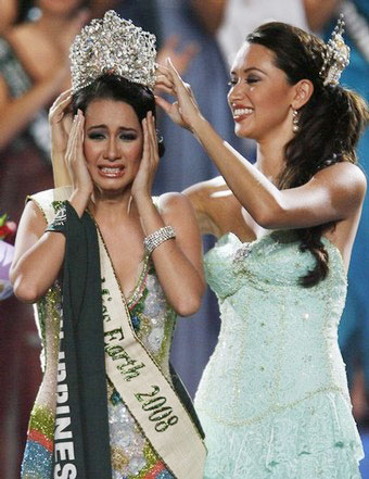 MISS EARTH 2008