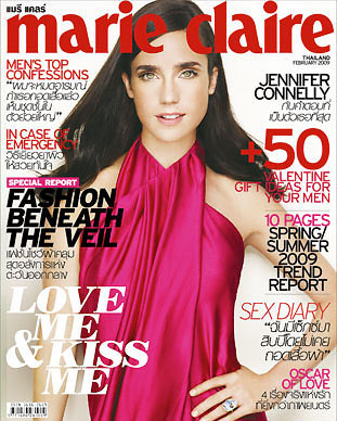 Jennifer Connelly,นิตยสาร MARIE CLAIRE