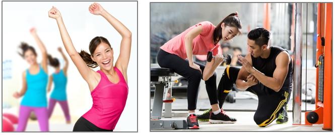 อาหารออกกำลังกายผู้หญิง