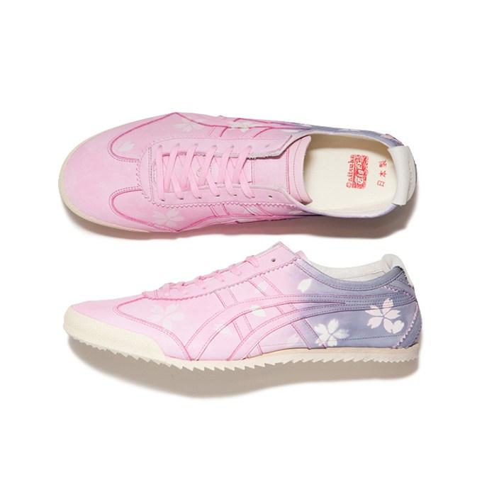 """new style b4bc8 772ec คิ้วท์กว่านี้มีอีกไหม รองเท้าผ้าใบลาย """"ซากุระ"""" จาก Onitsuka ..."""
