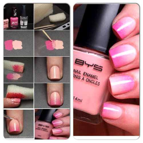 1435658440 ombre nails how to