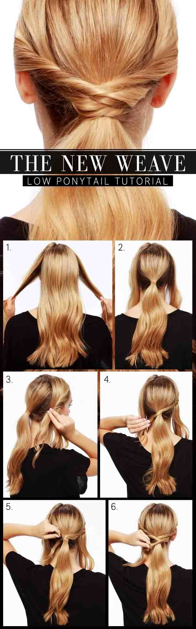 1499579565 beauty lulus how to the new weave low ponytail tutorial