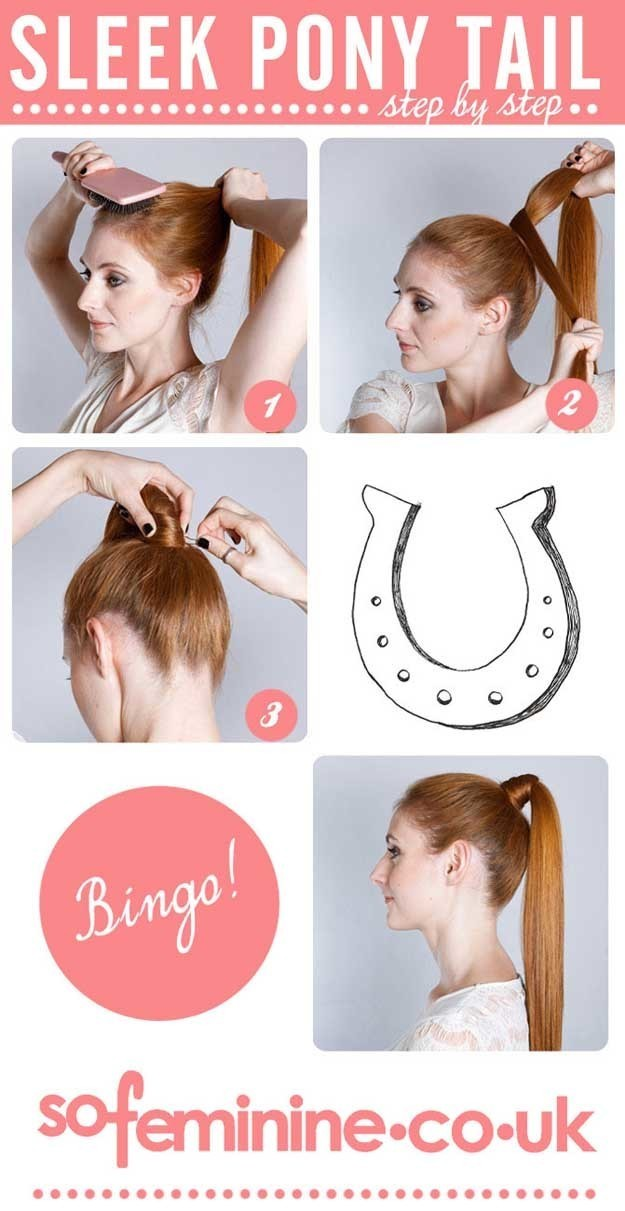 1499579918 how to do a sleek ponytail