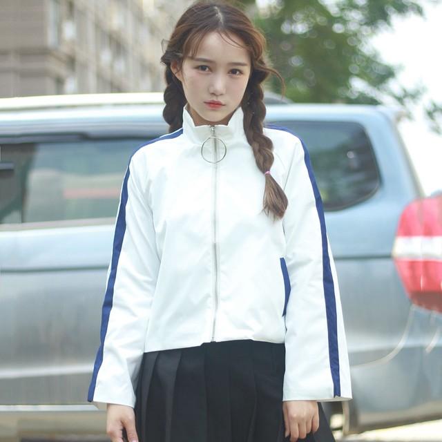 1508834318 campera mujer 2017 spring japanese bomber font b jacket b font women font b korean b