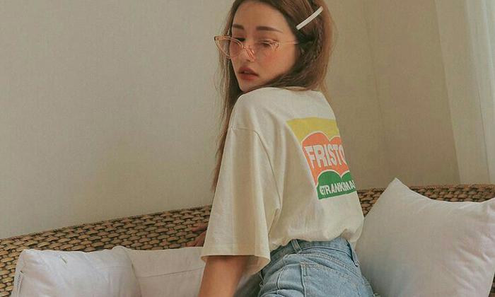 25 สไตล์ เเมทช์เสื้อยืดโอเวอร์ไซส์เหมือนสาวเกาหลี