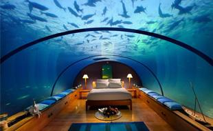 A 5 stars pampering trip @ the Star Shaped Island, the Maldives