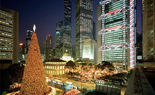 Celebrate the Happy Season in Hong Kong
