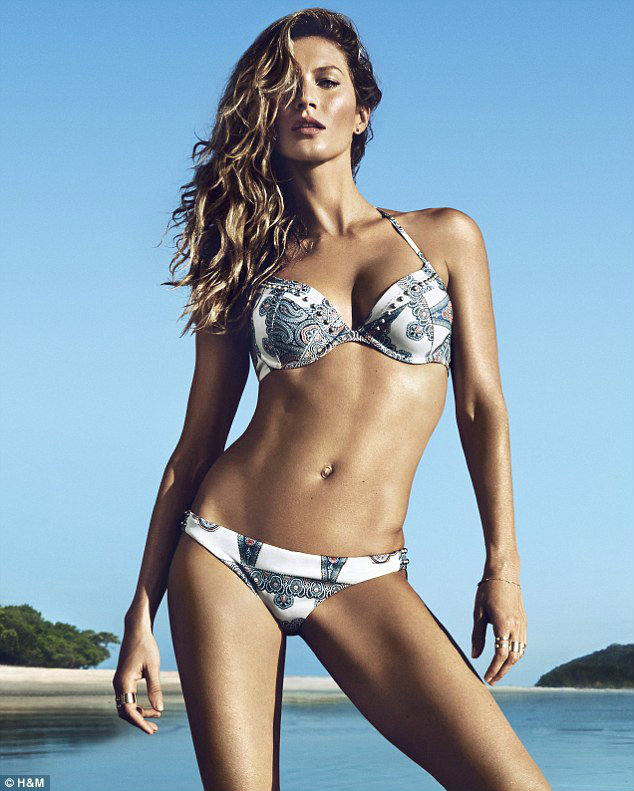 Gisele Bundchen for H&M Spring/Summer 2014